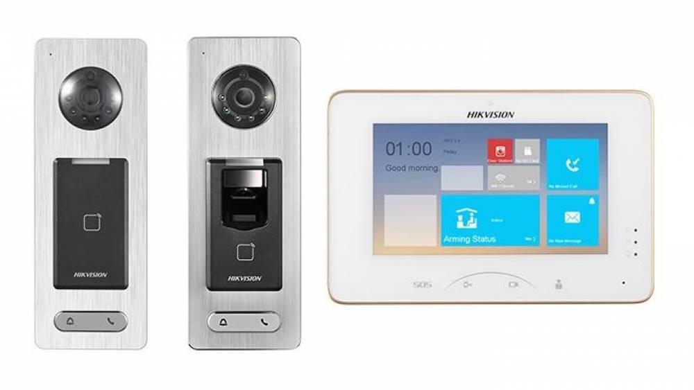 Sety IP videovrátnikov Hikvision s WiFi DS-KIS800S a DS-KIS801SF